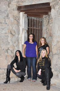 WPG Members Ashley, Kelly, Kristie & Carla